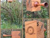 Bee's Box /2 sur pied