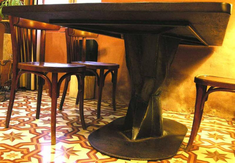 sculpture tabulaire yannick lemesle. Black Bedroom Furniture Sets. Home Design Ideas