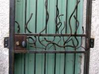 Grille de porte
