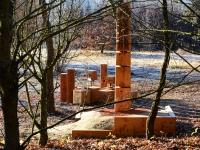 Oeuvre d'Arbres-vue nord colonne 1